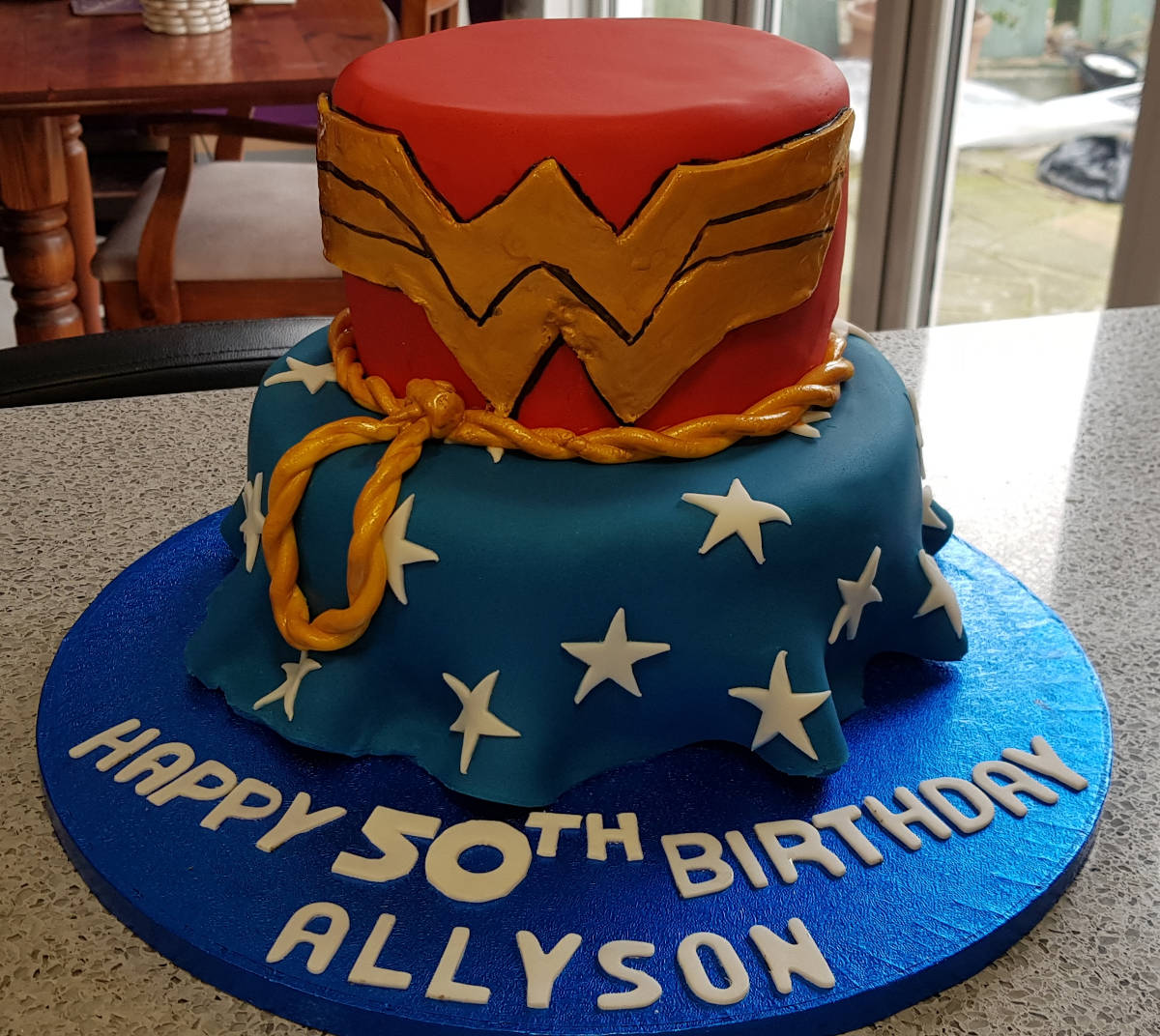 An image of What do you do when you reckon you know how old Wonder Woman is? goes here.