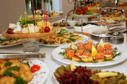 Image details: When planning a buffet, variety is essential to give your guests a memorable experience