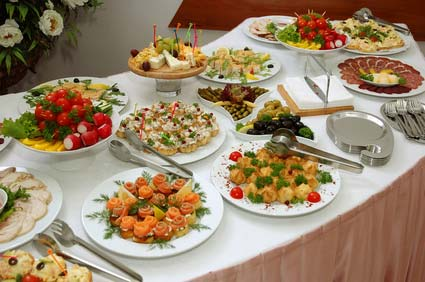 Image of When planning a buffet, variety is essential to give your guests a memorable experience