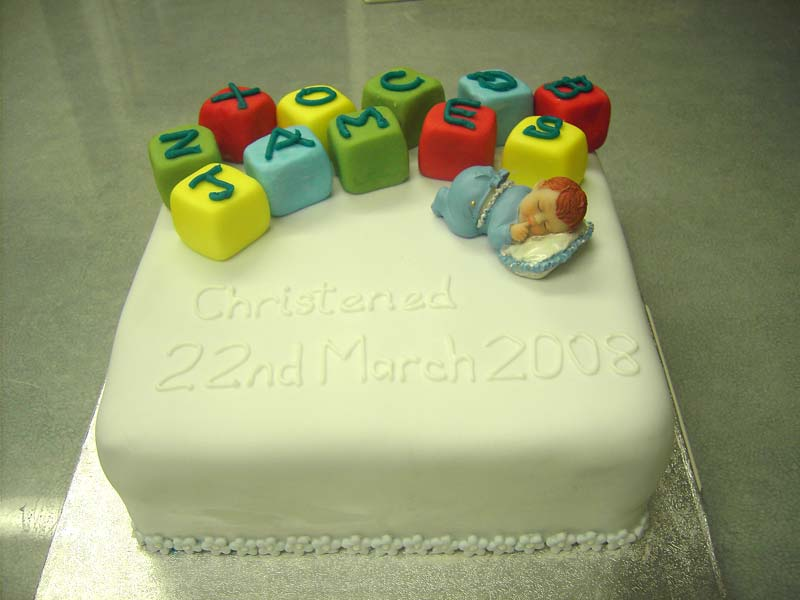 image showing Cakes for Christenings can be a huge part of the fun
