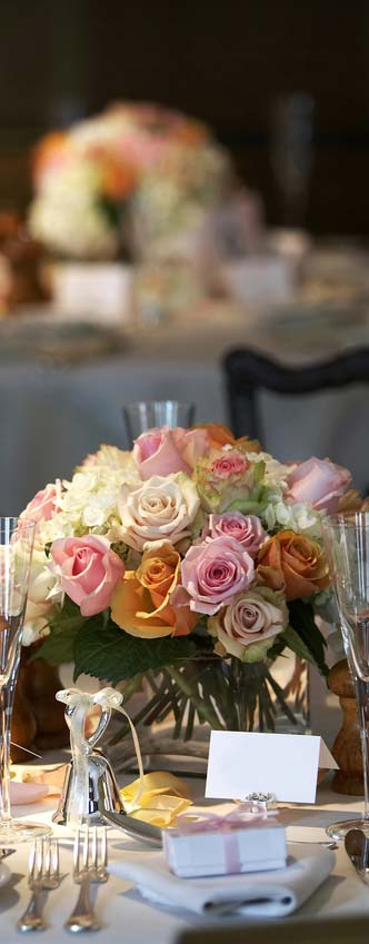 Image of Your seated wedding breakfast can be a great affair without having to spend a fortune.